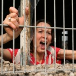 Angry Woman Imprisoned